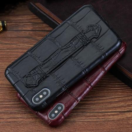 Luxury iPhone Xs Max, Xs, Crocodile and Alligator Case