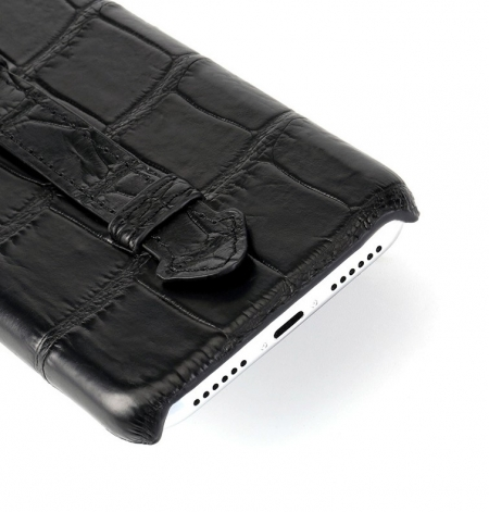 Luxury iPhone Xs Max, Xs, Crocodile and Alligator Case-Details-1