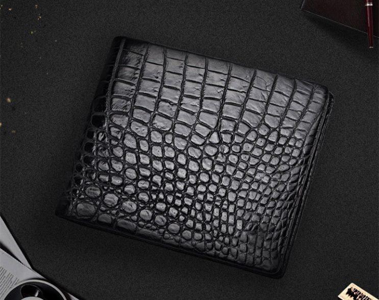 Men's Genuine Crocodile Wallet