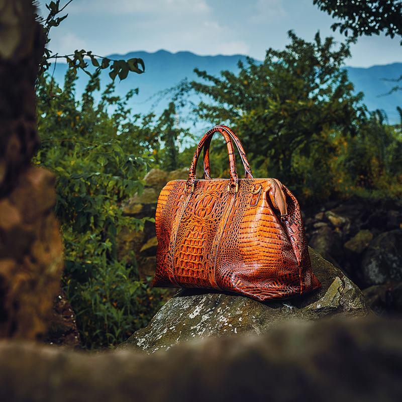 Mens luxury travel bag
