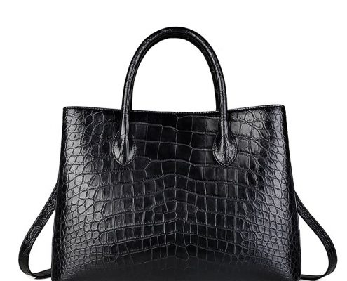 New Alligator Tote Handbag-2018