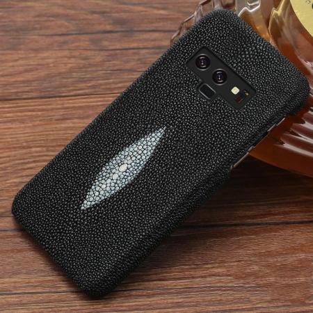 Stingray Leather Galaxy Note 9 Case-Black
