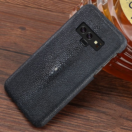 Stingray Leather Galaxy Note 9 Case-Gray