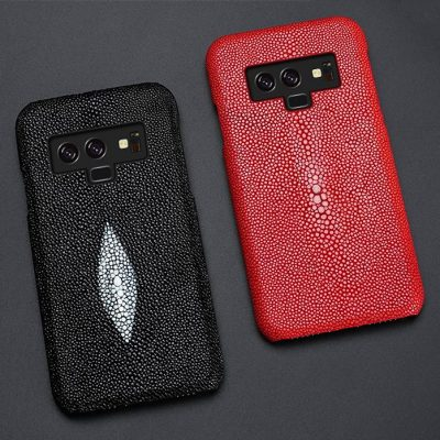 Stingray Leather Galaxy Note 9 Cases