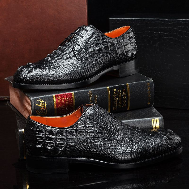The Luxury Crocodile Shoes We Need from BRUCEGAO