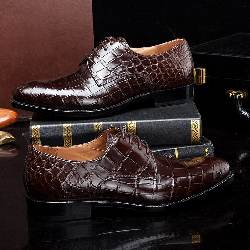 Winter 2018 Luxury Shoes Trends-Crocodile Shoes