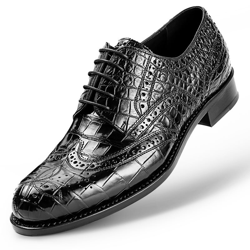 alligator shoes for men-2018 new