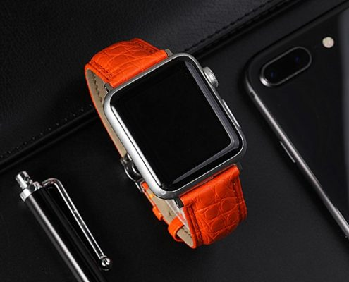 Apple watch series 4 Crocodile bands for women