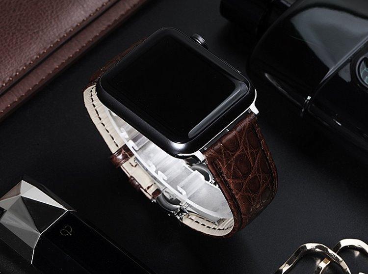 Apple watch series 4 alligator bands for men