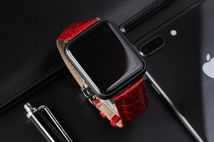 Apple watch series 4 alligator bands for women