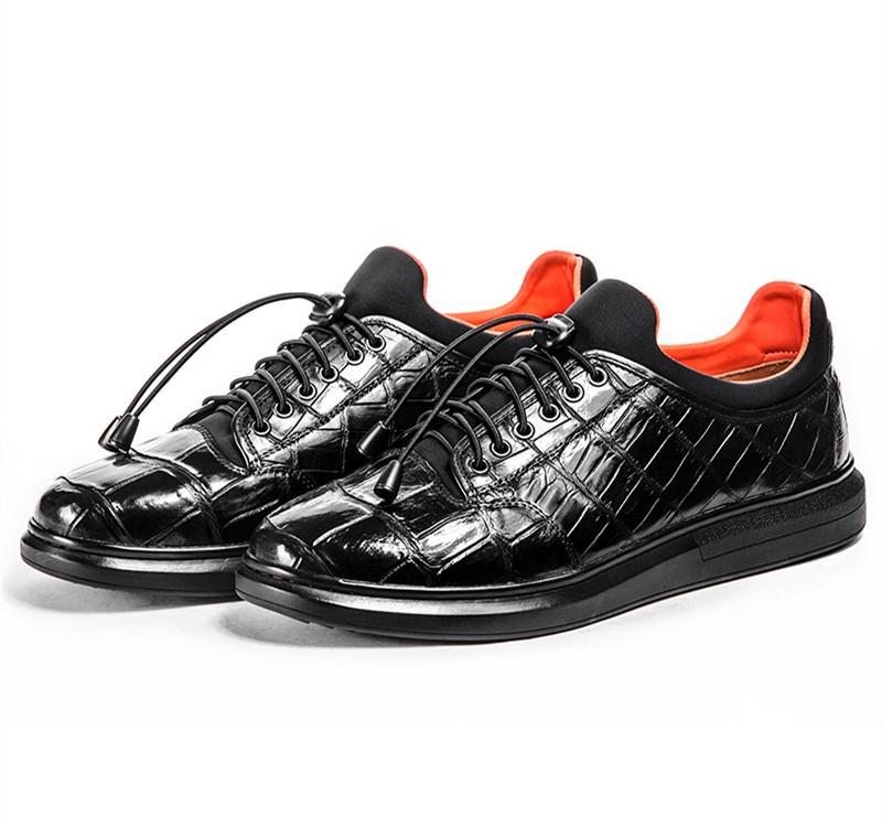 BRUCEGAO's Alligator Skin Sneakers