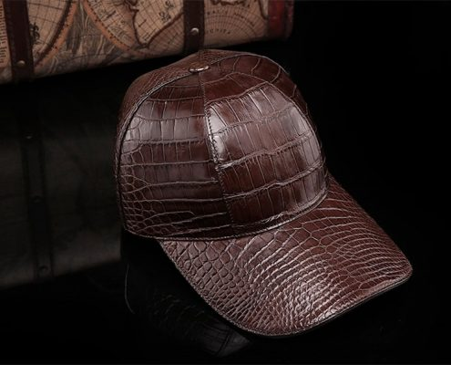 Best Crocodile Leather Baseball Cap for Men