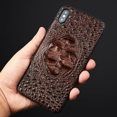 Crocodile and Alligator iPhone XS Max, XS Cases, iPhone XS Max, XS Crocodile and Alligator Leather Cases for Men