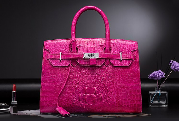 Luxury birthday gifts-crocodile leather handbag