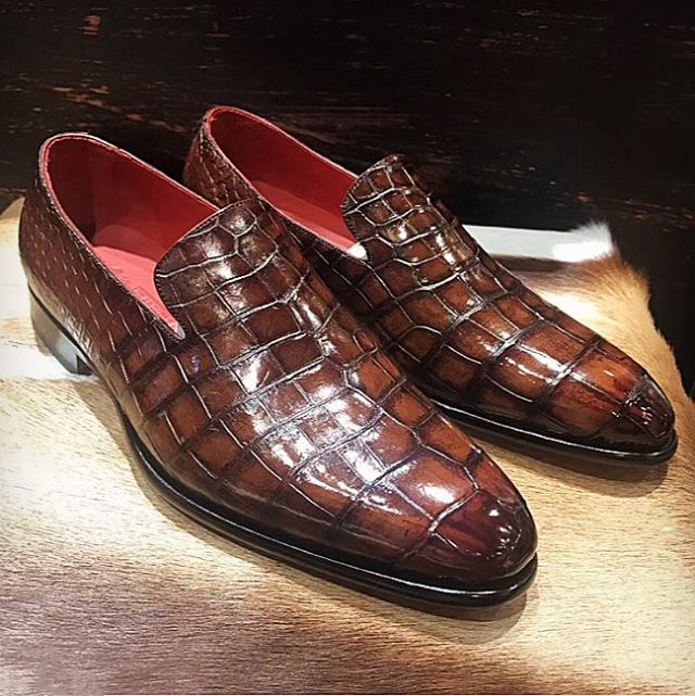 business alligator shoes and crocodile shoes