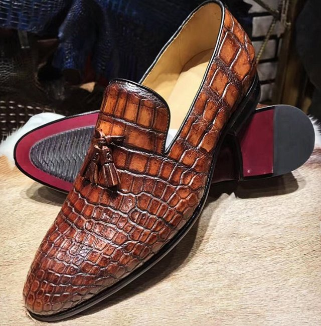 business crocodile shoes for men