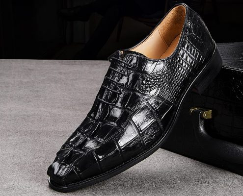exotic Leather Shoes-Crocodile Shoes