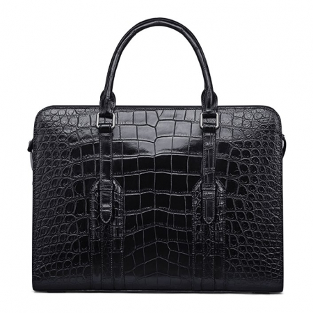 Genuine Alligator Leather Laptop Bag Briefcase Shoulder Bag
