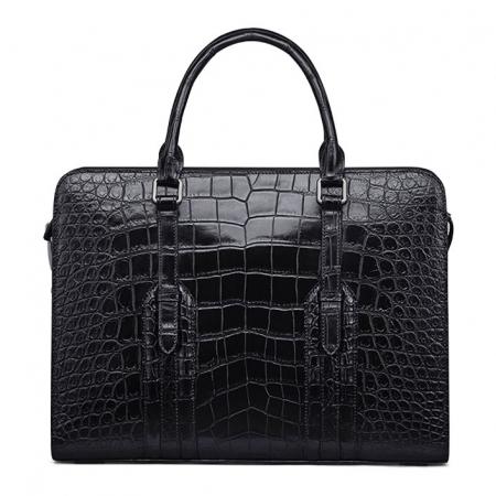 Genuine Alligator Leather Laptop Bag Briefcase Shoulder Bag