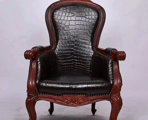 Alligator Leather Chairs