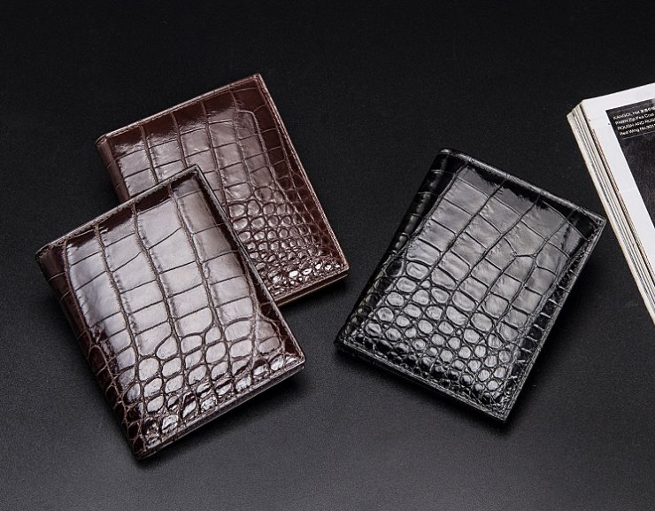 BRUCEGAO's Crocodile Wallet and Alligator Wallet
