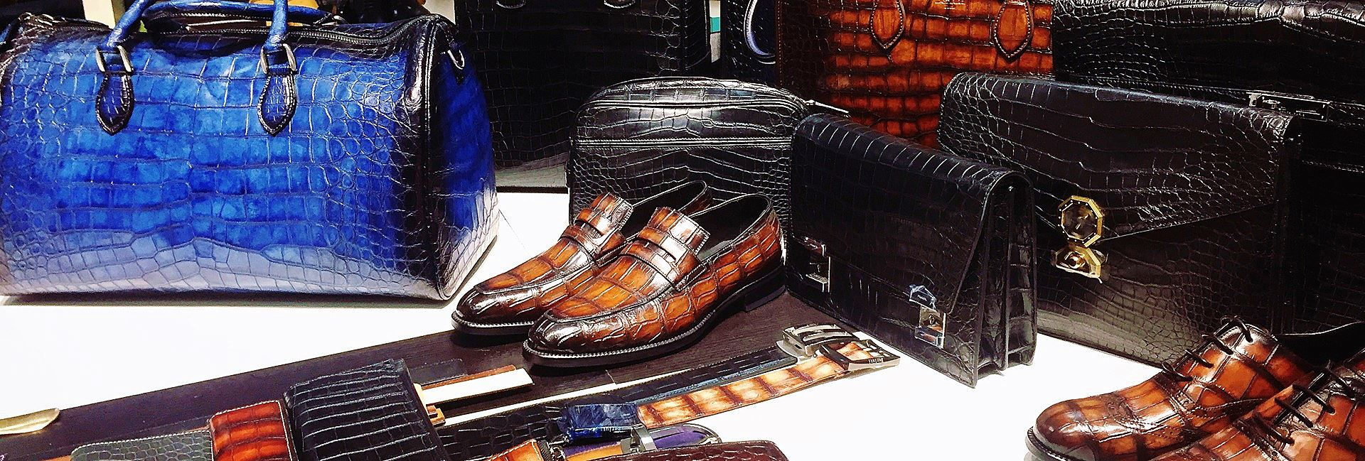 BRUCEGAO's leather products