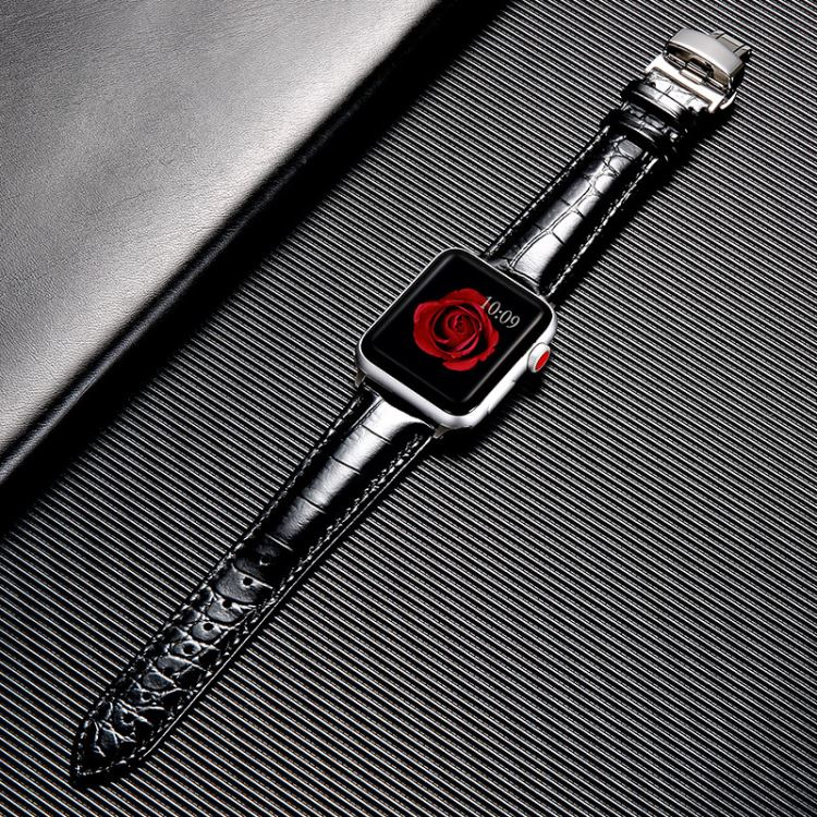 Crocodile Apple Watch Band