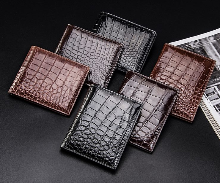 Crocodile Wallets and Alligator Wallets