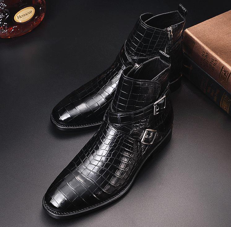 BRUCEGAO's Alligator Boots