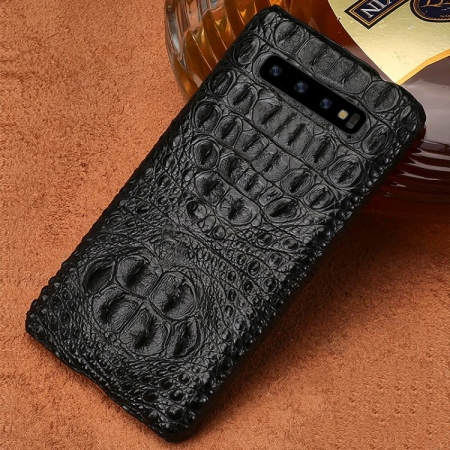 Crocodile and Alligator Galaxy S10 S10+ Case-Head Skin