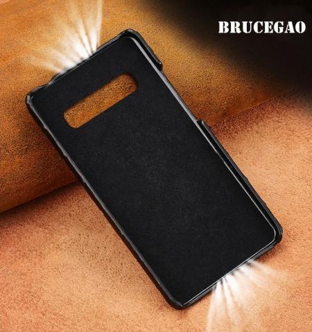 Crocodile and Alligator Skin Samsung Galaxy S10, S10+ Case-Details