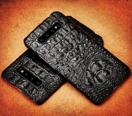 Crocodile and Alligator Skin Samsung Galaxy S10, S10+ Cases