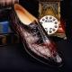 Formal Alligator Business Dress Shoes for Men