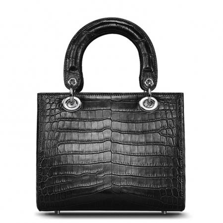 Alligator Leather Handbag Shoulder Tote Top-handle Cross body Bag