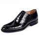 Alligator Leather Men's Classic Wholecut Oxford Shoes