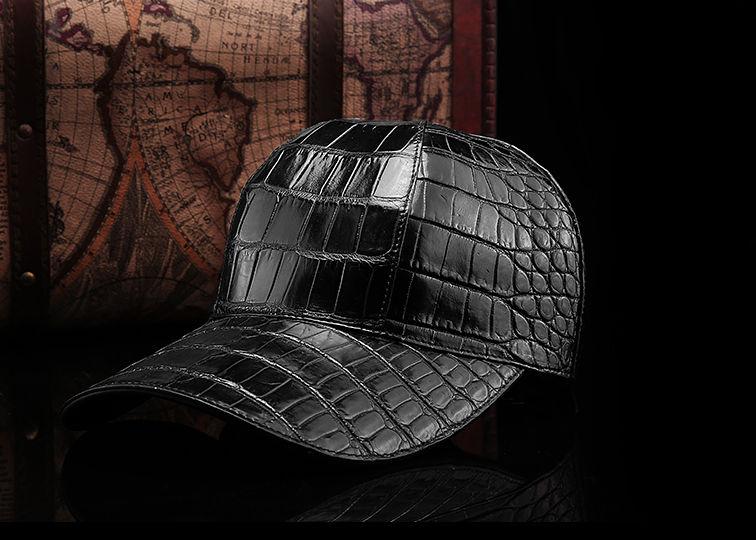 BRUCEGAO's Alligator Skin Hat