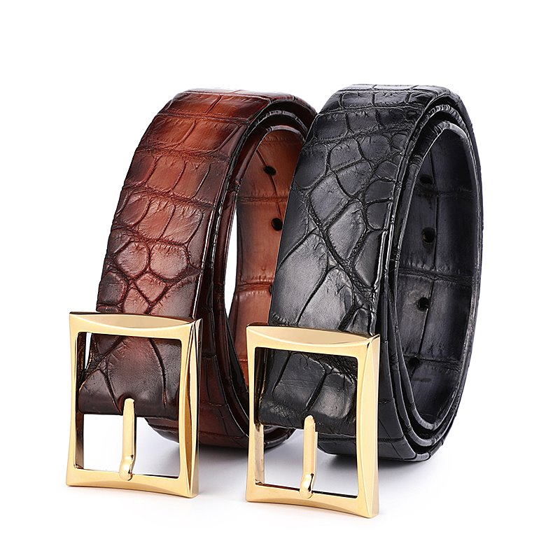 BRUCEGAOs Alligator Belts for Father's Day