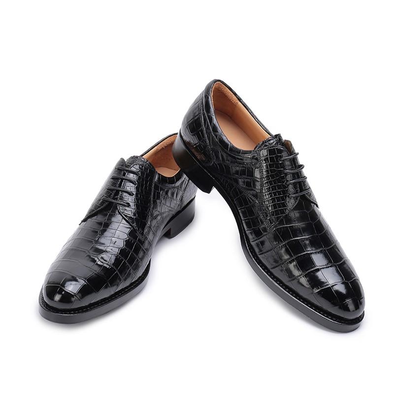 BRUCEGAO's Alligator Shoes for Men