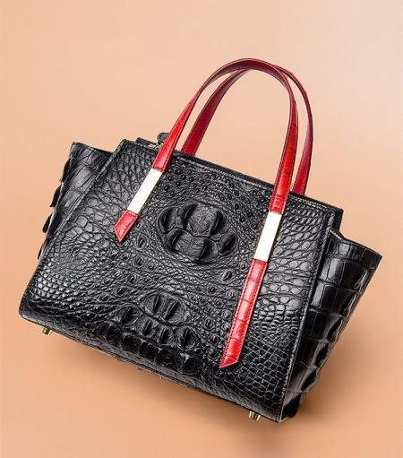 Casual Ladies Crocodile Tote Bag Shoulder Bag-1