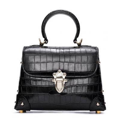Ladies Alligator Handbag Crossbody Shoulder Bag