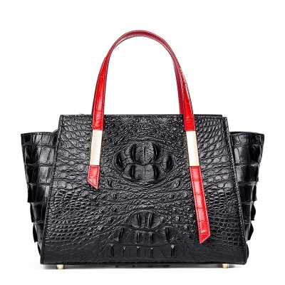 Ladies Crocodile Tote Bag Shoulder Bag