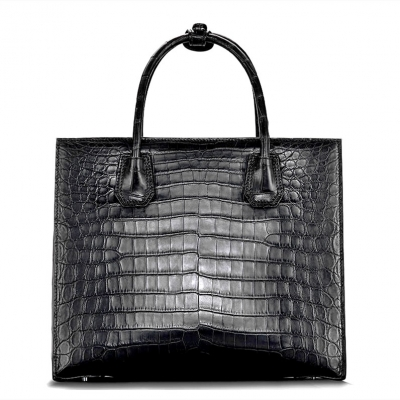 Classic Alligator Leather Tote handbag Shoulder Bag