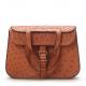 Designer Ostrich Skin Handbag Shoulder Bag for Women