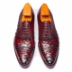 Luxurious Footwear BRUCEGAO Ostrich Skin Shoes
