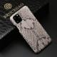 Python Snakeskin Snap-on Case for iPhone - Python Back Skin - White