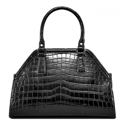 Alligator Leather Handbag Designer Tote Purse Top-handle Bag