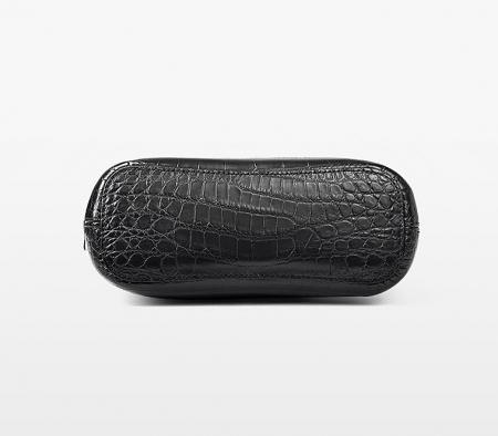 Alligator Leather Hobo Shoulder Bag for Women-Bottom