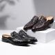 Genuine Alligator Skin Slippers