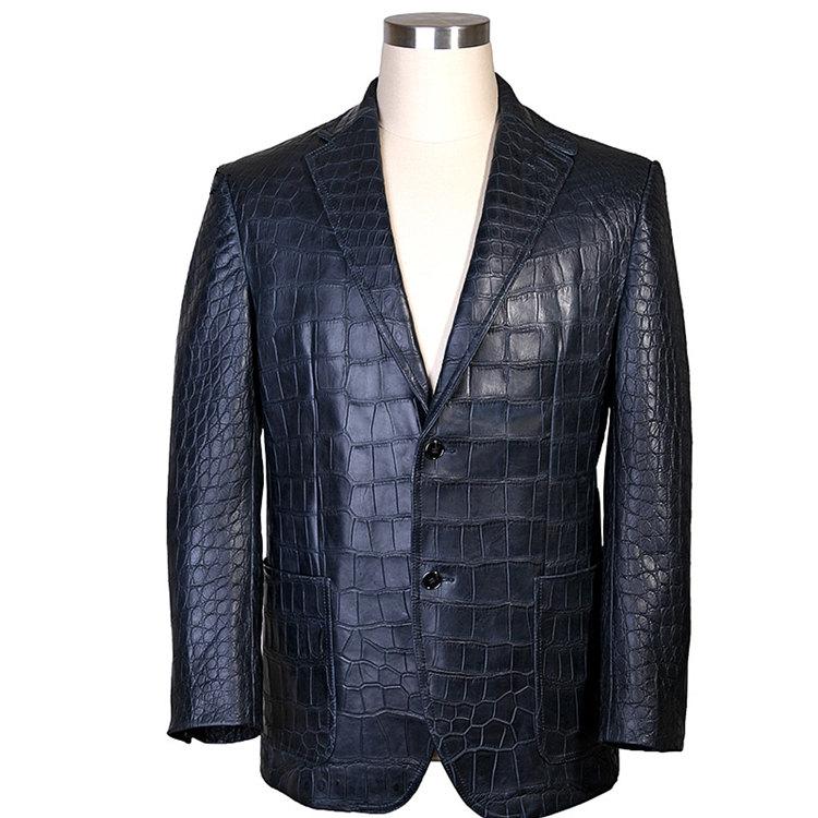Genuine Alligator Skin Jacket