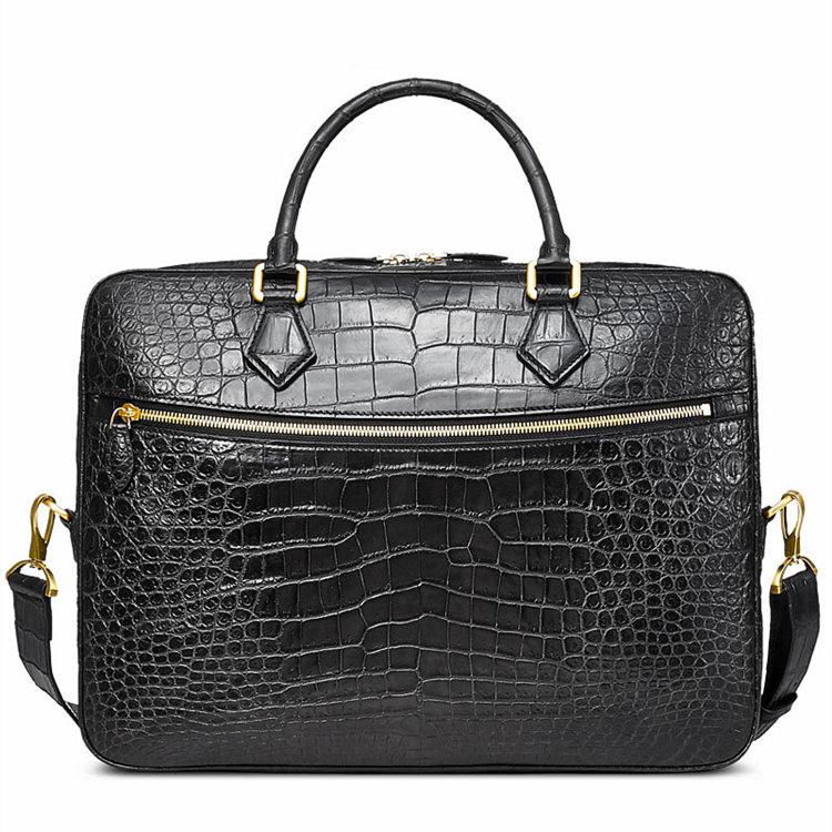 Luxury Alligator Briefcase for Men